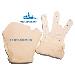 Girls/Women Figure Skating Performance Gloves