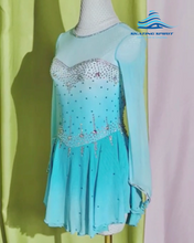 Load image into Gallery viewer, Figure Skating Dress #SD156