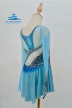 Load image into Gallery viewer, Figure Skating Dress #SD198