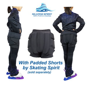 Luxury Skating Training Outfit