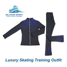 Load image into Gallery viewer, Luxury Skating Training Outfit