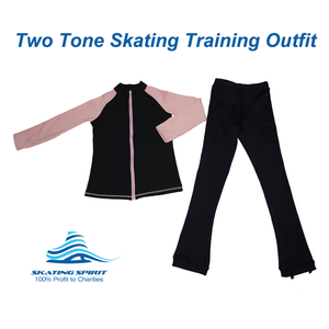 Two-tone Skating Training Outfit