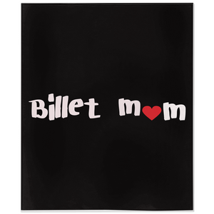 Hockey Billet Mom Minky Blanket