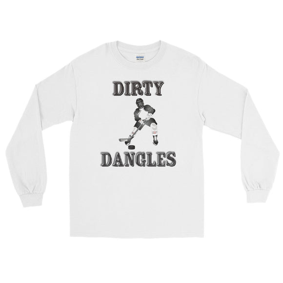 Dirty Dangles Hockey Long Sleeve T-Shirt