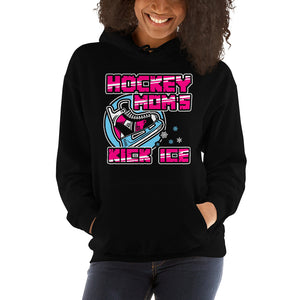 Hockey Moms Kick Ice Unisex Hoodie Hooded Sweatshirt