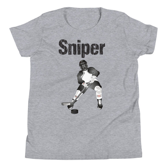 Sniper Hockey Youth Short Sleeve T-Shirt