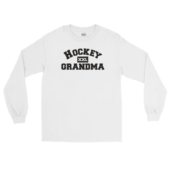 Hockey Grandma Long Sleeve T-Shirt light