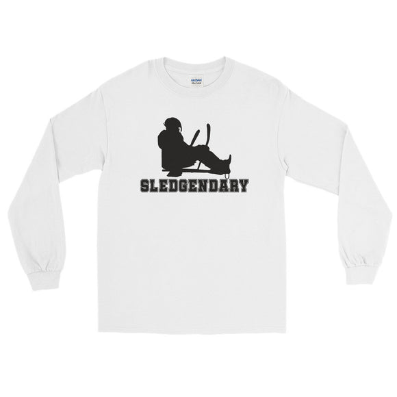 Slegendary Sled Hockey Long Sleeve T-Shirt