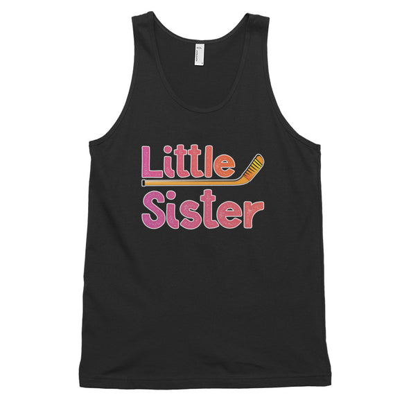 Little Sister Hockey Classic tank top (unisex)
