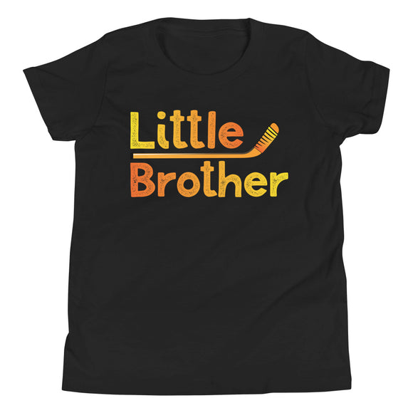 Hockey Little Brother Youth Short Sleeve T-Shirt