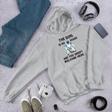 The Goal is My House Hockey Goalie Unisex Heavy Blend Hoodie Hooded Sweatshirt