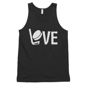 Hockey Love Classic tank top (unisex)