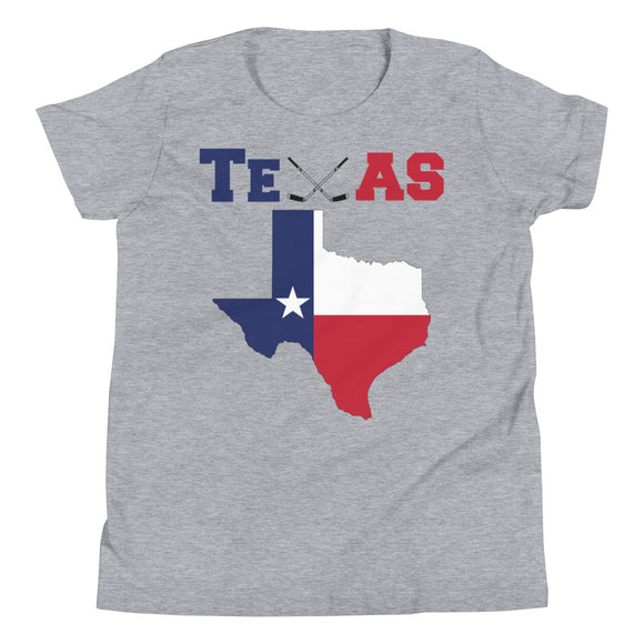 Texas Hockey Youth Short Sleeve T-Shirt