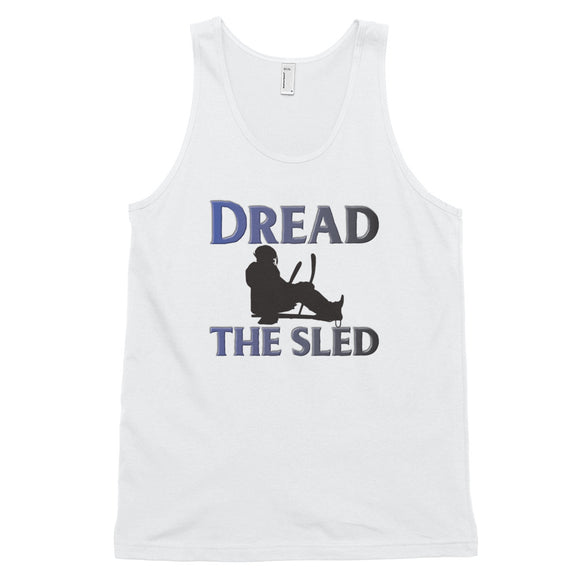 Dread the Sled Hockey Classic tank top (unisex)