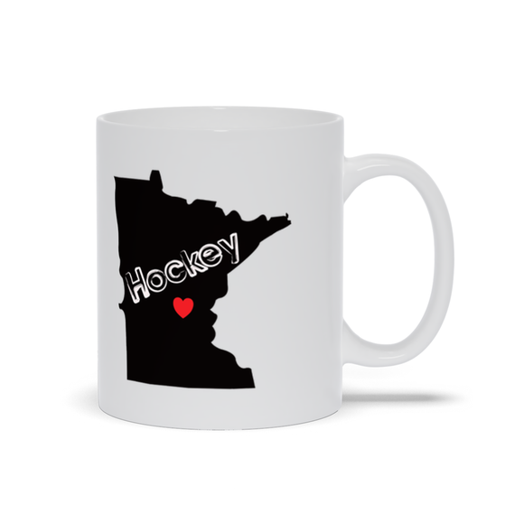 Minnesota Hockey Ceramic Coffee Mug
