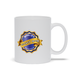 World's Okayest Hockey Mom Ceramic Coffee Mug