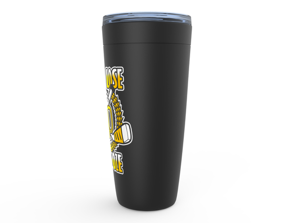 Win or Lose We Booze Hockey Viking Tumbler Travel Mug