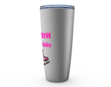 Princess on Hockey Skates Viking Tumbler Travel Mug
