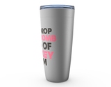 I'm a Drop the F Bomb Kind of Hockey Mom Viking Tumbler Travel Mug