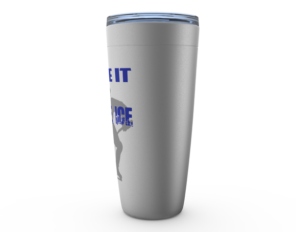 Prove It On the Ice Hockey Viking Tumbler Travel Mug