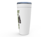 I Support Wildlife I Coach Hockey Viking Tumbler Travel Mug