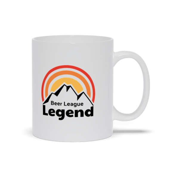 Beer League Legend Ceramic Coffee Mug