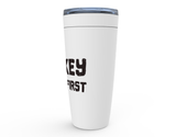 Hockey Comes First Viking Tumbler Travel Mug
