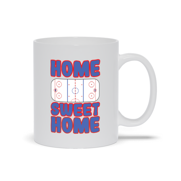 Home Sweet Home Hockey Ceramic Coffee Mug