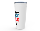 Minnesota Hockey People blue Viking Tumbler Travel Mug