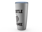 My Whistle My Game Referee Viking Tumbler Travel Mug