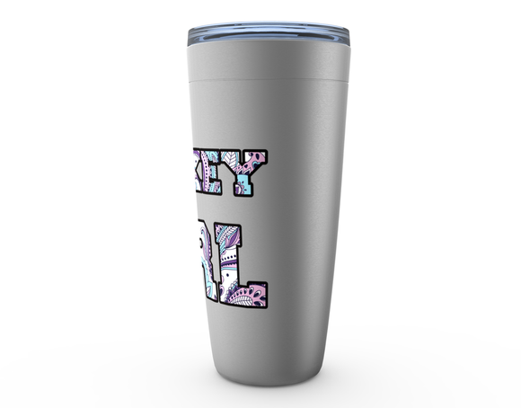 Hockey Girl Paisley Viking Tumbler Travel Mug