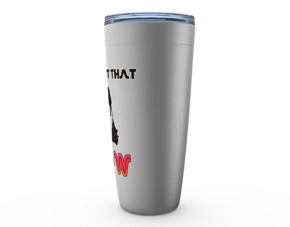 All About That Flow Hockey Hair Viking Tumbler Travel Mug