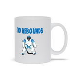 No Rebounds Hockey Goalie Ceramic Coffee Mug