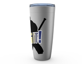 Bring It Hockey Goalie Viking Tumbler Travel Mug