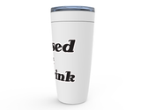 Raised at the Rink Viking Tumbler Travel Mug