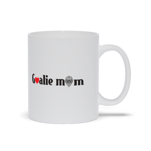 Goalie Mom Hockey Ceramic Coffee Mug