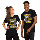 Win or Lose We Booze Hockey Short-Sleeve Unisex T-Shirt