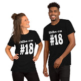 Dibs on #18 Short-Sleeve Unisex T-Shirt