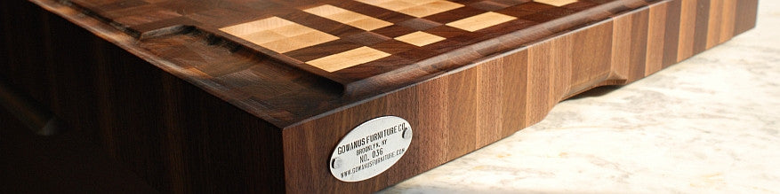 Morse Code Monogrammed Cutting Boards