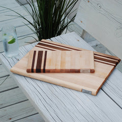 Monogrammed Cutting Board Set