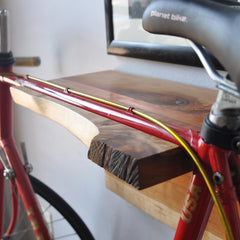 treeHouse Hardwood Bike Shelves