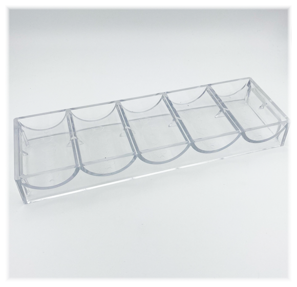 43mm Acrylic Chip Trays (For 43mm chips ONLY)