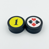Poker Tournament Seating Chip Set (Pack of 10)