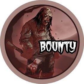 """Zombie Poker Tour"" Bounty Chips (Pack of 10)"