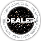 Card Wars Dealer Button (49mm or 60mm)