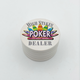 High Stakes Dealer Button (49mm or 60mm)