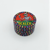 Dia de los Muertos Dealer Button - Black (49mm or 60mm)
