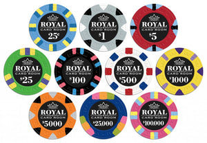 Custom Vinyl Poker Chip Labels (LABELS ONLY, CHIPS NOT INCLUDED)