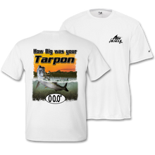 Load image into Gallery viewer, Tarpon (Custom Fish Size) Adult Short Sleeve Tee
