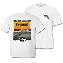 Load image into Gallery viewer, Trout (Custom Fish Size) Adult Short Sleeve Tee